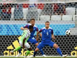 Футбол. ЧМ-2018. Дубль Ахмеда Мусы принёс сборной Нигерии победу над Исландией - 2:0