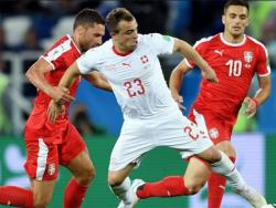 Футбол. ЧМ-2018. Швейцария добилась волевой победы над сборной Сербии - 2:1