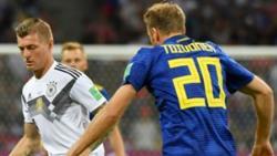 Футбол. ЧМ-2018. Чудо-гол Тони Крооса сохранил Германии надежду на выход в плей-офф
