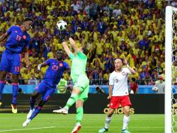 Футбол. ЧМ-2018. Забив три безответных гола полякам, Колумбия выбивает их из турнира