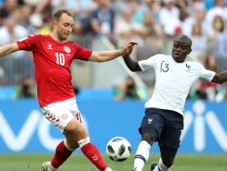 Футбол. ЧМ-2018. Сыграв вничью 0:0, сборные Франции и Дании выходят в плей-офф от группы С