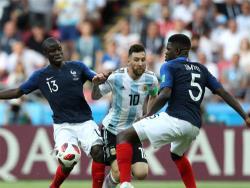 Футбол. ЧМ-2018. Сборная Аргентины проиграла Франции в первом матче плей-офф со счётом 3:4