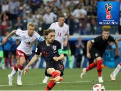Футбол. ЧМ-2018. Хорваты по пенальти выиграли у Дании и в четвертьфинале сыграют с Россией