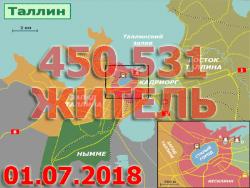 Число зарегистрированных жителей столицы Эстонии продолжает увеличиваться
