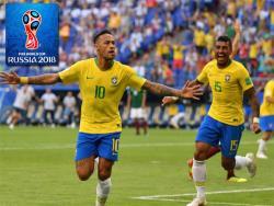Футбол. ЧМ-2018. Выиграв со счётом 2:0 у Мексики, сборная Бразилии вышла в четвертьфинал
