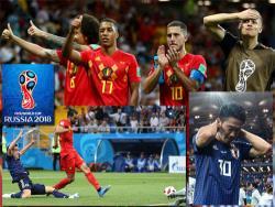 Футбол. ЧМ-2018. Сборная Бельгии, даже пропустив первой два гола, одолела команду Японии