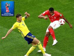Футбол. ЧМ-2018. Швеции для выхода в четвертьфинал хватило одного гола в ворота Швейцарии