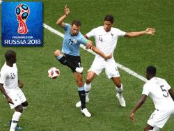 Футбол. ЧМ-2018. Уругвай пропустил от Франции два `сухих` гола и вылетел в четвертьфинале