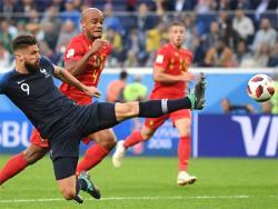 Футбол. ЧМ-2018. Минимально выиграв у Бельгии, французы стали первыми полуфиналистами