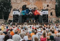 В южной Эстонии в 26-й раз проходит фестиваль `Вильянди Фолк`