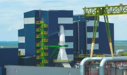 Новая электростанция в Аувере сдана в эксплуатацию