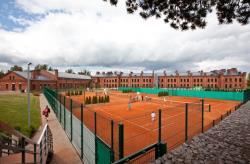 В сентябре в Виймси откроется спортивный комплекс с шестью теннисными кортами
