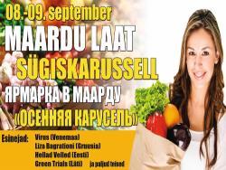 «Осенняя карусель-2018»: Власти города Маарду вновь приглашают на ярмарку-фестиваль