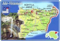 Число туристов в Ида-Вирумаа в июле 2018 года выросло, но россиян стало немного меньше
