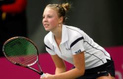 Теннис. Эстонка Анетт Контавейт вышла в третий круг крупного турнира в Китае