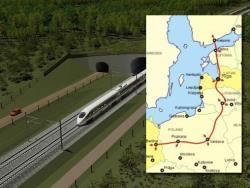 Только цифры: Эстонская часть железнодорожной магистрали Rail Baltica подорожала на 18%