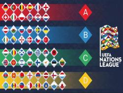 Футбол. Лига Европы. Сборная Эстонии играет вничью 3:3 с Венгрией, но остаётся последней