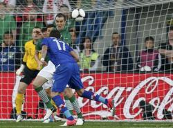 Футбол. Евро-2012.  Хорваты выиграли матч у Ирландии и возглавили группу С