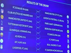 Футбол. Лига Чемпионов 2018/19. Участники плей-офф узнали соперников по 1/8 финала
