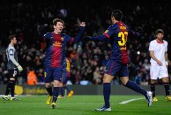 Футбол. Чемпионат Испании. `Барселона` ушла на новогодние каникулы лидером Примеры