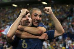 Футбол. Евро-2012.  Украинцы не сдержали натиск французов