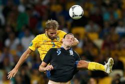 Футбол. Евро-2012. Сборная Англии в искрометном поединке одолела шведов