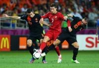 Футбол. Евро-2012. Дубль Криштиану Роналду оставил Голландию без очков в `группе смерти`