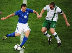 Футбол. Евро-2012. Италия спокойно переиграла Ирландию и прошла в плей-офф
