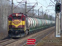 Объём грузоперевозок Eesti Raudtee в январе 2019 года по сравнению с 2018 годом снизился