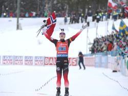 Биатлон. ЧМ-2019. Норвежцы выиграли мужскую эстафету, россияне - третьи, эстонцы - 14-е