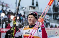 Лыжный спорт. Норвежец Йоханнес Клебо второй год подряд выиграл Большой хрустальный глобус