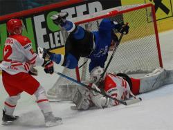 Хоккей. ЧМ-2019/1В. Команда Эстонии проиграла сборной Польши со счётом 2:3