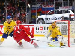 Хоккей. ЧМ-2019. Победа над чемпионами мира шведами выводит сборную России на США
