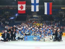 Хоккей. ЧМ-2019. Команда Финляндии в третий раз стала чемпионом мира, россияне - третьи