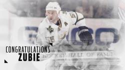 Двукратного обладателя Кубка Стэнли Сергея Зубова ввели в Зал хоккейной славы в Торонто!