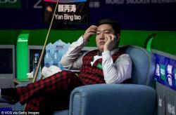 Снукер. Победителем рейтингового турнира Riga Masters стал 19-летний китаец Янь Бинтао