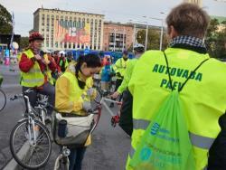 Таллинский `День без автомобиля` в 2019 году пройдёт на площади Башен в Старом городе