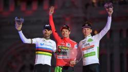Велоспорт. Заключительную крупную многодневку сезона выиграл словенец Примож Роглич