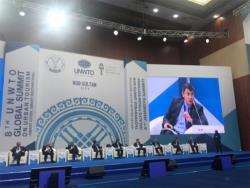 Мэр Таллина принял участие во встрече Всемирной туристической организации в Казахстане