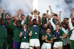 Регби. Южноафриканцы повторили рекорд новозеландцев, став трехкратными чемпионами мира