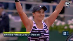 Теннис. Австралийка Эшли Барти стала победительницей итогового турнира WTA