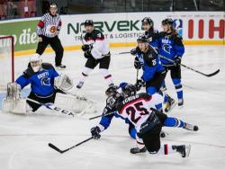 Хоккей. Сборная Эстонии в первом матче Балтийского кубка уступила команде Украины