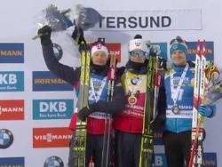 Биатлон. КМ 2019/20. Йоханнес Бё выиграл первый спринт сезона, двое россиян - в четвёрке
