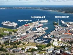 В порту Таллина будет построен терминал для приёма круизных лайнеров