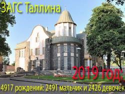 За 2019 год зарегистрировано 4917 новорождённых: В Таллине положительный прирост населения
