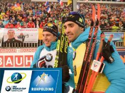 Биатлон. КМ 2019/20. Выиграв спринт в Рупольдинге, Мартен Фуркад упрочил лидерство
