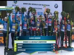 Биатлон. КМ 2019/20. Победа в эстафете Рупольдинга стала для норвежек четвёртой подряд