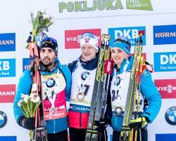 Биатлон. КМ-2019/20. Йоханнес Бё выиграл индивидуалку в Поклюке, Фуркад - второй
