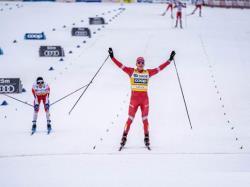 Лыжи. КМ-2019/20. Выиграв масс-старт в Фалуне, Большунов укрепил лидерство в общем зачёте
