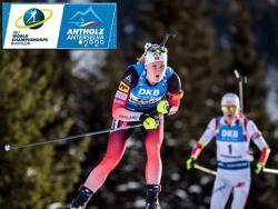 Биатлон. ЧМ-2020. Марте Олсбю принесла Норвегии золото в женском спринте